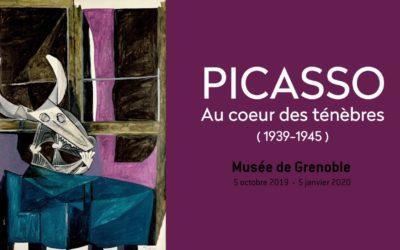 Musée de Grenoble – Exposition : «PICASSO Au cœur des ténèbres (1939-1945)»